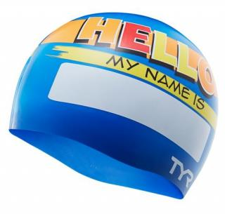 Шапочка Hello My Name Is Swim Cap