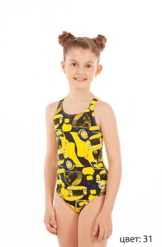 Купальник Mechanic Jr One Piece Swim Pro Back